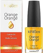 "Духи, Парфюмерия, косметика Масло для ногтей и кутикулы ""Апельсин"" - Kinetics Orange Cuticle Oil"