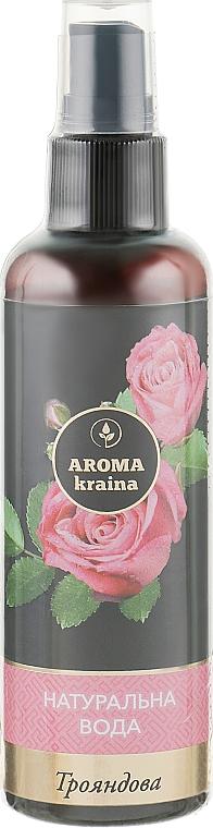 "Натуральна вода ""Розовая"" - Aroma Kraina"