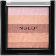 Духи, Парфюмерия, косметика Компактная пудра для лица многоцветная - Inglot AMC Multicolour System Highlighting Powder