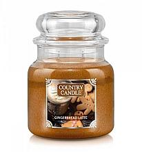 Духи, Парфюмерия, косметика Ароматическая свеча - Country Candle Gingerbread Latte