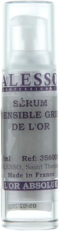 """Успокаивающая сыворотка """"Серое золото"""" - Alesso Professionnel Grey Gold Serum (мини)"""