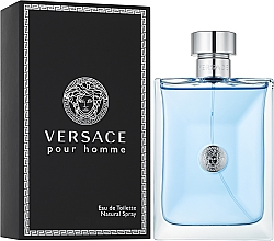 Духи, Парфюмерия, косметика Versace Pour Homme - Туалетная вода