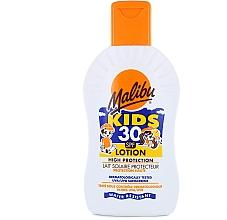 Духи, Парфюмерия, косметика Солнцезащитный лосьон для детей - Malibu Sun Kids Lotion SPF30
