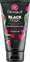 Духи, Парфюмерия, косметика Маска-пленка для комбинированной и жирной кожи - Dermacol Black Magic Detox And Pore Purifying Peel-off Mask