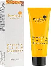 Духи, Парфюмерия, косметика Очищающая пенка с экстрактом прополиса для чувствительной кожи - PureHeal's Propolis Foam Cleanser