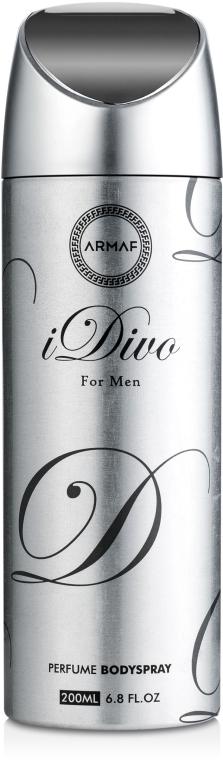 Armaf Idivo For Men - Дезодорант