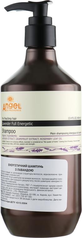Энергетический шампунь с лавандой - Angel Professional Paris Provence Energy With Lavender Shampoo