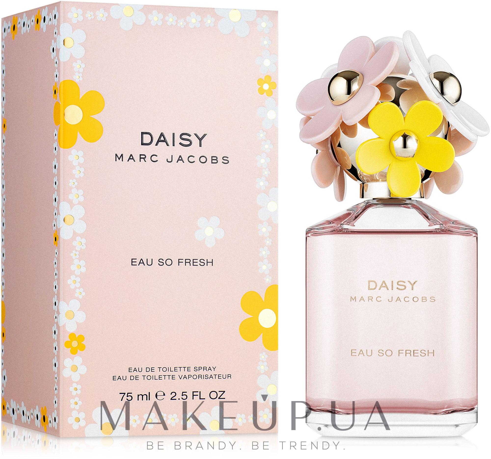 Marc Jacobs Daisy Eau So Fresh - Туалетная вода — фото 75ml