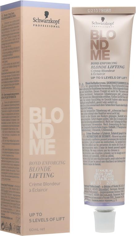 Осветляющий бондинг-крем - Schwarzkopf Professional Blondme Bond Enforcing Blonde Lifting