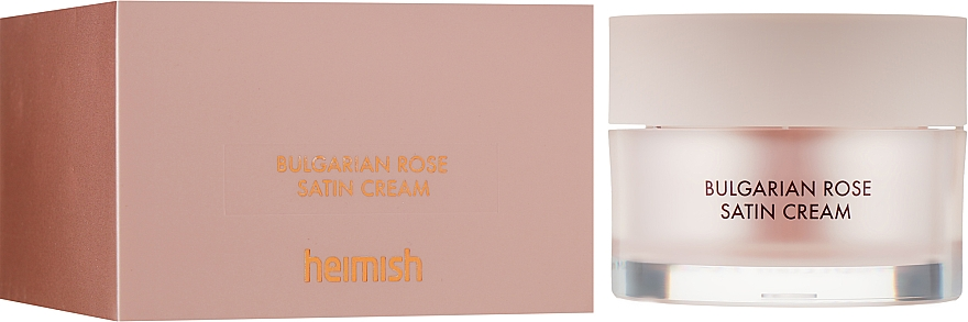 Крем для лица увлажняющий - Heimish Bulgarian Rose Satin Cream