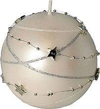 Духи, Парфюмерия, косметика Декоративная свеча белая, 10х10см - Artman Christmas Garland