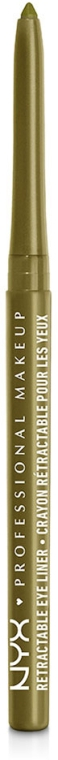 Автоматический водостойкий карандаш для глаз - NYX Professional Makeup Retractable Eye Liner