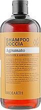 "Парфумерія, косметика Шампунь і гель для душу 2в1 ""Цитрусовий"" - Bioearth Citrus Fruits Shampoo & Body Wash"