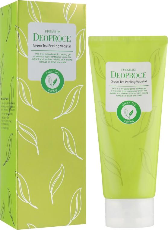 Пилинг-скатка на основе зеленого чая - Deoproce Premium Green Tea Peeling Vegetal — фото N1