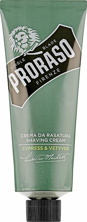 Крем для бритья - Proraso Cypress & Vetyver Shaving Cream