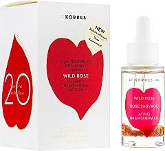 Духи, Парфюмерия, косметика Инновационное масло для лица с дикой розой - Korres Wild Rose Fase Oil