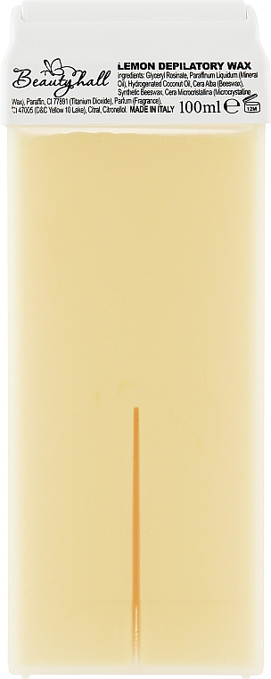 "Воск в кассете ""Лимон"" - Beautyhall Lemon Depilatory Wax"