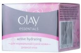 Духи, Парфюмерия, косметика УЦЕНКА Увлажняющий дневной крем - Olay Essentials Active Hydrating*