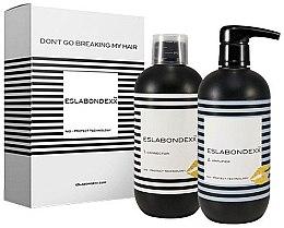 Духи, Парфюмерия, косметика УЦЕНКА Набор для защиты волос - Nouvelle Eslabondexx Kit ( hair/emulsion/500ml + hair/cr/500ml) *