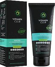 Духи, Парфюмерия, косметика Маска для укрепления и роста волос с маслом зародышей пшеницы и комплексом витаминов - VitaminClub
