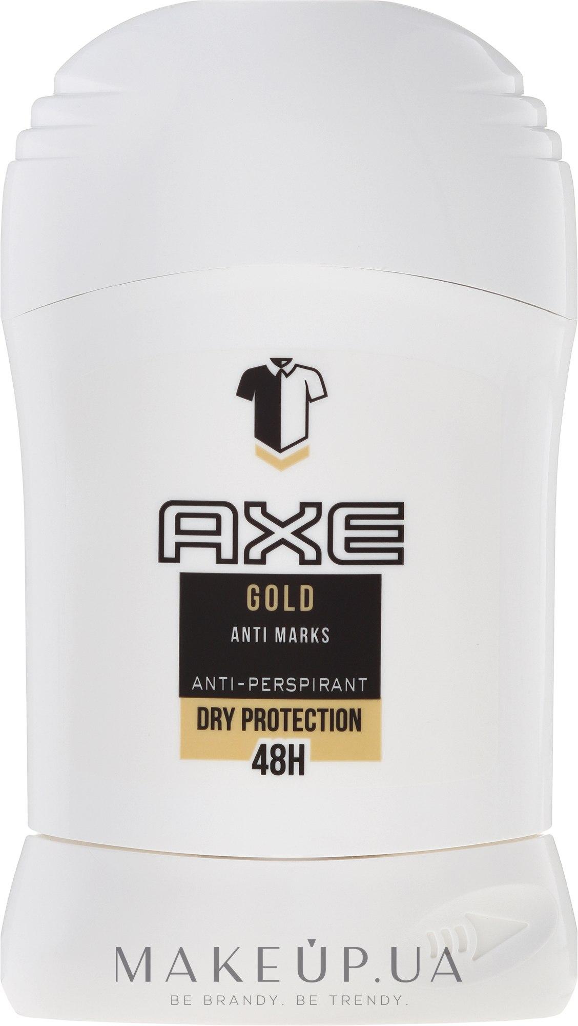 Дезодорант-стік - Axe Gold Anti Marks Anti-Perspirant — фото 50ml