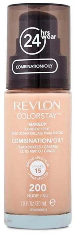 Тональный крем - Revlon ColorStay Foundation For Combination/Oily Skin SPF 15