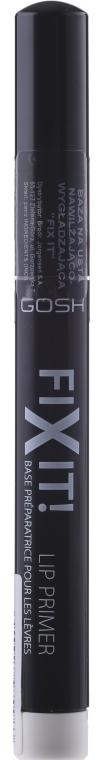 База для увлажнения и разглаживания губ - Gosh Copenhagen Fix It Lip Primer