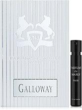 Духи, Парфюмерия, косметика Parfums de Marly Galloway - Парфюмированная вода (пробник)