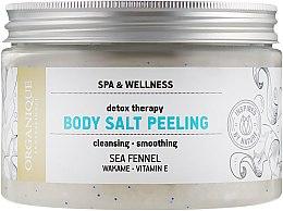 Духи, Парфюмерия, косметика Солевой детокс-пилинг для тела - Organique Detox Therapy Body Salt Peeling