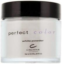 Духи, Парфюмерия, косметика Акриловая пудра прозрачная с белым оттенком - CND Perfect Color White Powder