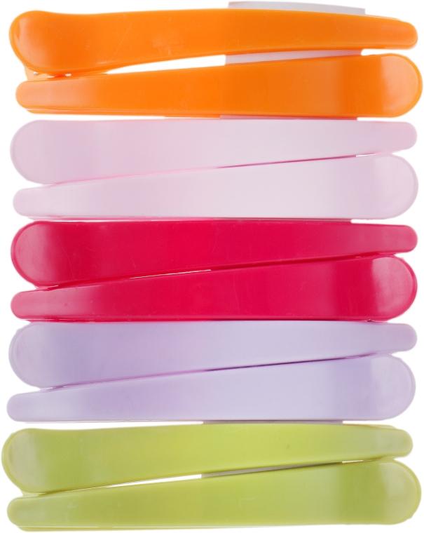 Зажимы пластиковые, 964087, разноцветные - SPL