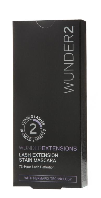 Устойчивая удлиняющая тушь для ресниц - Wunder2 Wunderextensions Lash Extension Stain Mascara