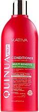 Духи, Парфюмерия, косметика Кондиционер для окрашенных волос - Kativa Quinua PRO Conditioner