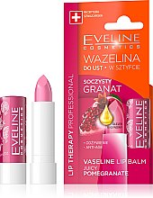 "Духи, Парфюмерия, косметика Бальзам для губ ""Гранат"" - Eveline Cosmetics Lip Therapy Proffesional Vaseline Lip Balm"