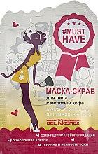 """Духи, Парфюмерия, косметика Маска-скраб для лица с молотым кофе """"Глубокое очищение и разглаживание кожи"""" - BelKosmex Must Have Scrub"""