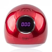 Духи, Парфюмерия, косметика Лампа LED+UV, красная - Star LED+UV Lamp Star 5 72W Red