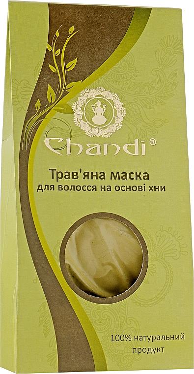 Травяная маска для волос на основе хны - Chandi