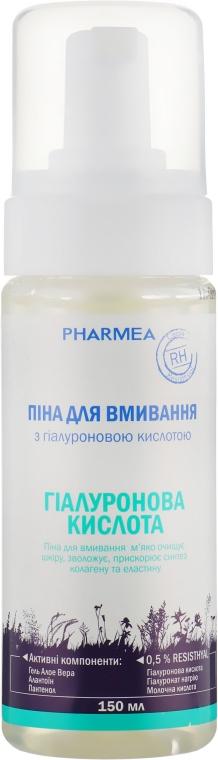 Пена для умывания с гиалуроновой кислотой - Pharmea Resisthyal