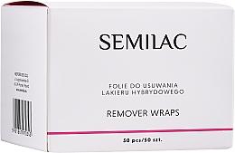 Духи, Парфюмерия, косметика Фольга для снятия лака - Semilac Remover Wraps