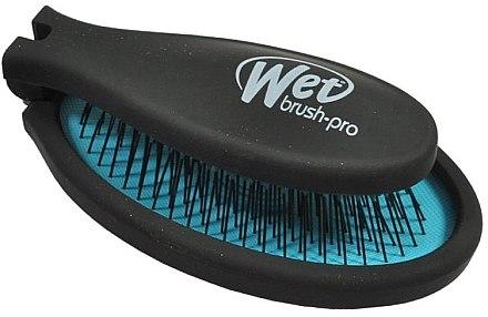 Компактная расческа - Wet Brush Pop Fold Cool Blue