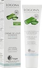 Крем для обличчя денний для чутливої шкіри - Logona Facial Care Day Cream Organic Aloe — фото N2
