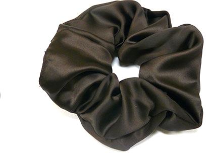 Резинка для волос P1600-9, 11 см d-5,5 см, коричневая - Akcent