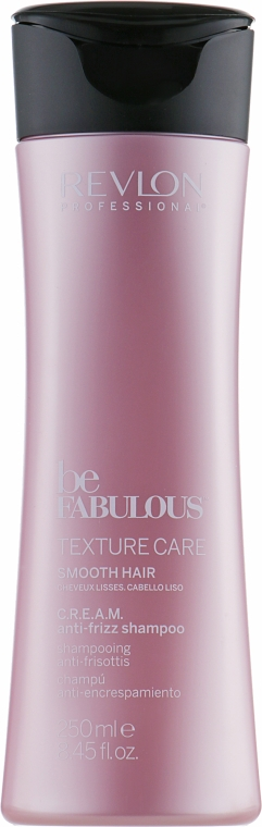 Разглаживающий шампунь для волос - Revlon Professional Be Fabulous Texture Care Smooth Shampoo — фото N2