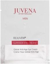 Комплексный антивозрастной крем ухода за кожей век - Juvena Rejuven Men Superior Eye Cream (пробник) — фото N1