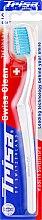 Духи, Парфюмерия, косметика Зубная щетка, мягкая, белая - Trisa Swiss Clean Soft