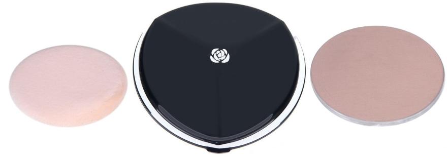 Пудра компактная с запасным блоком - Chambor Silver Shadow Compact Powder — фото N1