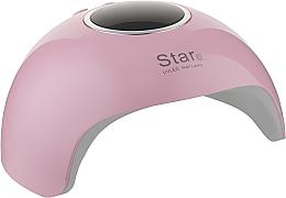 Духи, Парфюмерия, косметика Лампа LED+UV, розовая - Star LED+UV Lamp Star 6 36W Pink