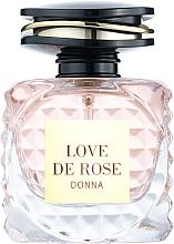 Духи, Парфюмерия, косметика Fragrance World Love De Rose Donna - Парфюмированная вода