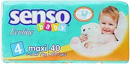 Духи, Парфюмерия, косметика Подгузники Senso Baby Ecoline Maxi 4 (7-18 кг) 40 шт - Senso Baby