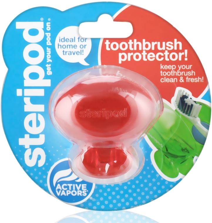 Антибактеріальний чохол для зубної щітки (одинарна упаковка) - Steripod — фото N1